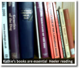 Kathie wrote two books about the Lancashire Heeler and also published her 'Practical Dog Dictionary'